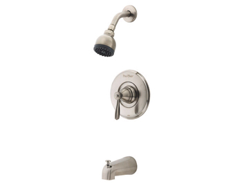 Price Pfister R89-8PK0 Portland Single Handle Tub/Shower Trim Brushed Nickel