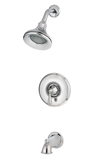 Price Pfister R89-8RPC Portola Single Handle Tub/Shower Trim Chrome