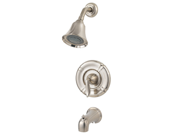 Price Pfister R89-8STK Santiago Single Handle Tub/Shower Trim Brushed Nickel