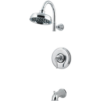 Price Pfister R89-8YPC Ashfield Single Handle Tub/Shower Trim Chrome