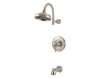 Price Pfister R89-8YPK Ashfield Single Handle Tub/Shower Trim Brushed Nickel