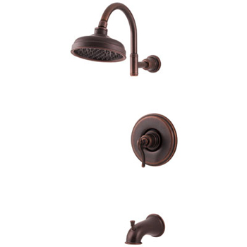 Price Pfister R89-8YPU Ashfield Single Handle Tub/Shower Trim Rustic Bronze