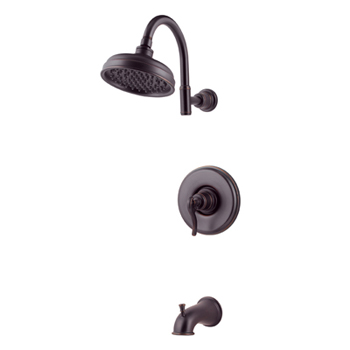 Price Pfister R89-8YPY Ashfield Single Handle Tub/Shower Trim Tuscan Bronze