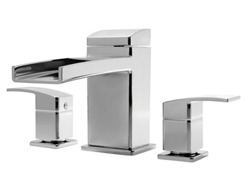Price Pfister RT6-3DFC Kenzo 3-Hole Roman Tub Faucet Trim Chrome