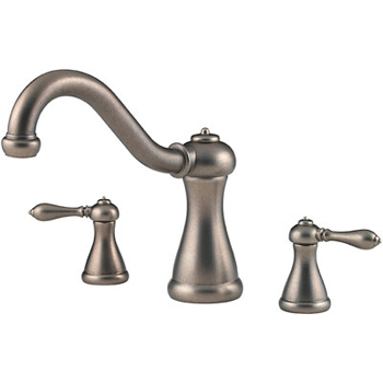 Price Pfister RT6-M0XE Marielle Roman Tub Faucet Trim Rustic Pewter (Less Handles)