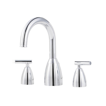 Price Pfister RT6-NXC0 Contempra Roman Tub Faucet Trim Chrome (Less Handles)
