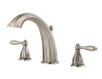 Price Pfister RT6-RP0K Portola Roman Tub Faucet Trim Brushed Nickel