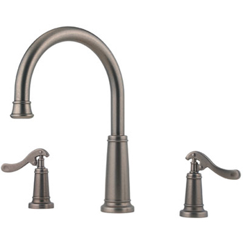Price Pfister RT6-YP1E Ashfield Roman Tub Faucet Trim Rustic Pewter (Less Handles)