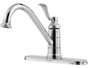Price Pfister GT34-1PC0 Portland Single Handle Kitchen Faucet Chrome
