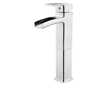 Price Pfister GT40-DF0C Kenzo Collection Single Handle Lavatory Vessel Faucet Chrome