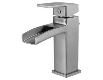 Price Pfister GT42 DF0K Kenzo Single Handle Lavatory Faucet Brushed Nickel