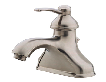 Price Pfister T42-PK00 Portland Single Handle Centerset Lavatory Faucet Brushed Nickel