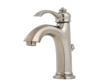 Price Pfister GT42-RP0K Portola Single Control Lavatory Faucet Brushed Nickel