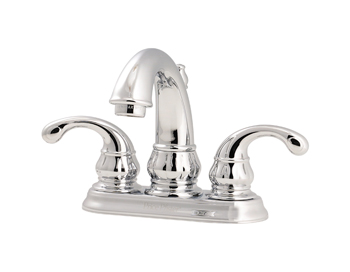 Price Pfister GT48-DC00 Treviso Two Handle Centerset Lavatory Faucet Chrome