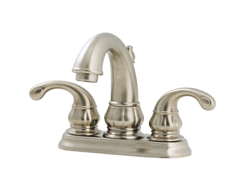Price Pfister GT48-DK00 Treviso Two Handle Centerset Lavatory Faucet Brushed Nickel