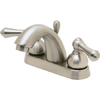 Price Pfister T48-JKXK Carmel Two Handle Centerset Lavatory Faucet Brushed Nickel (Less Handles)