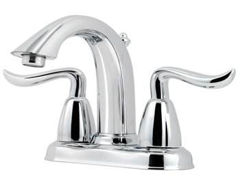 Price Pfister GT48-ST0C Santiago Two Handle Centerset Lavatory Faucet Chrome
