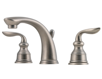 Price Pfister GT49-CB0E Avalon Two Handle Widespread Lavatory Faucet Rustic Pewter