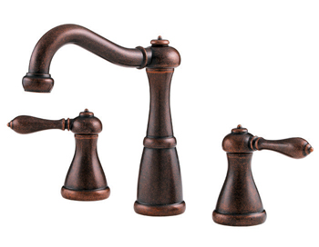 Price Pfister GT49-M0BU Marielle Widespread Lavatory Faucet Rustic Bronze