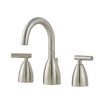 Price Pfister T49-NK00 Contempra Widespread Lavatory Faucet Brushed Nickel