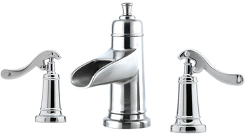 Price Pfister GT49-YP1C Ashfield Widespread Lavatory Faucet Chrome