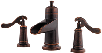 Price Pfister GT49-YP1U Ashfield Widespread Lavatory Faucet Rustic Bronze