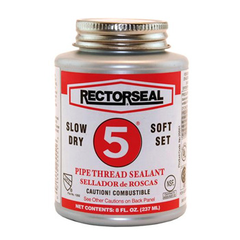 Rectorseal 25551 8 oz. No. 5 Pipe Thread Sealant