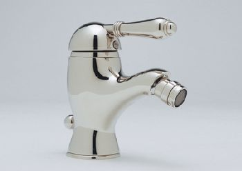 ROHL A3403LPIB Country Bath Single Lever Bidet Faucet - Inca Brass (Pictured in Polished Nickel w/Metal Lever Handle -- Not Included)