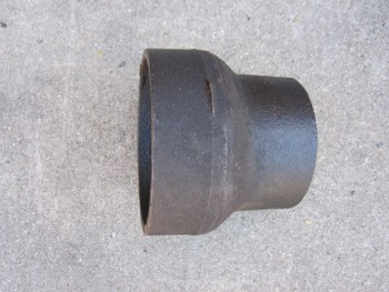 2 inch X1-1/2 inch  Cast Iron Short Reducer