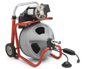 Ridgid 26998 #K-400 Drain Cleaning Drum Machine with C-45 IW