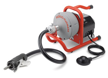 Ridgid 78347 #K-40AF-B Battery Dual Feed Drain Cleaning Sink Machine