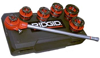Ridgid 36480 #12-R Manual Ratchet Threader Set