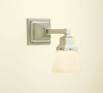 Robern MLLWSBN M Series Single Wall Sconce - Brushed Nickel