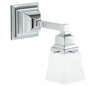 Robern MLLWSCH M Series Single Wall Sconce - Chrome
