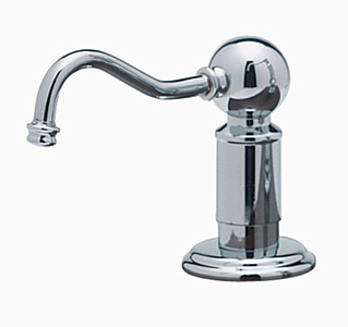 Rohl LS850PAPC Perrin & Rowe Style Soap/Lotion Dispenser - Polished Chrome