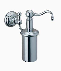Rohl WD850P-TCB Wall Mounted Soap/Lotion Dispenser - Tuscan Brass (Pictured in Polished Chrome)