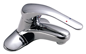 Symmons S-20-IPS Single-Handle Lavatory Faucet - Chrome