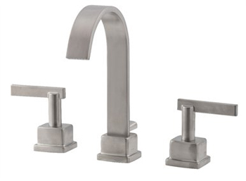 Belle Foret L400-SN Widespread Lavatory Faucet - Satin Nickel
