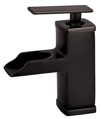 Belle Foret L425-ORB Single Handle/Hole Open Spout Lavatory Faucet - Oil Rubbed Bronze