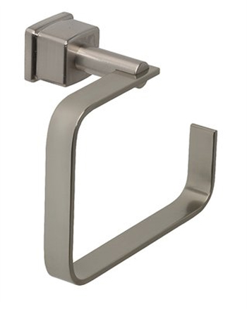 Belle Foret TR400SN Open Towel Ring - Satin Nickel