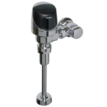 Sloan 8186-0.125 Eco Friendly (0.125 gpf) Exposed Battery Powered Sensor Operated G2 Model Urinal Flushometer