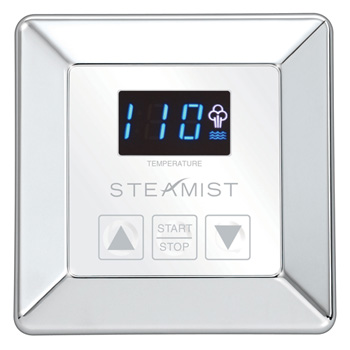 Steamist SMC-150-PC Timer and Programmable Digital Control - Polished Chrome