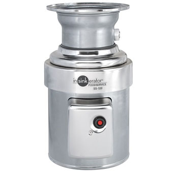 InSinkErator SS-100 1 HP Commercial Garbage Disposal