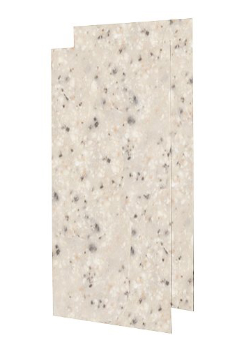 Swanstoe SS-3696-2-040 Double Shower Wall Panel - Bermuda Sand