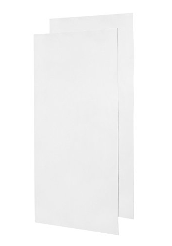 Swanstone Ss 3696 2 010 Double Shower Wall Panel White