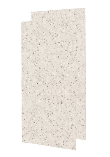 Swanstone SS-4896-2-046 Double Shower Wall Panel - Almond Galaxy