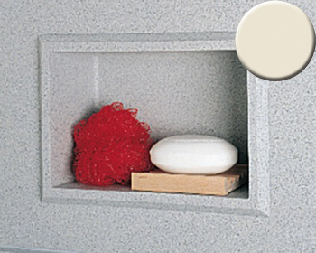 Swanstone AS-1075-037 Recessed Accessory Shelf - Bone