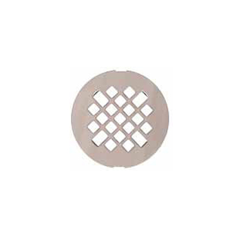 Swanstone DC-MD-187 Fit-Flo Metal Drain Cover - Brushed Nickel