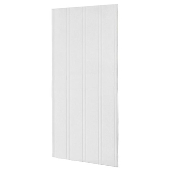 Swanstone DWP-3696BB-1-010 Decorative Beadboard Pattern Wall Panel - White