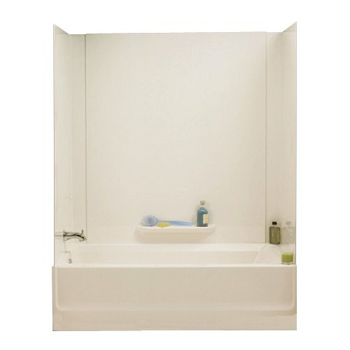 Swanstone GN58-037 Veritek 3-Panel Tub Wall Kit - Bone